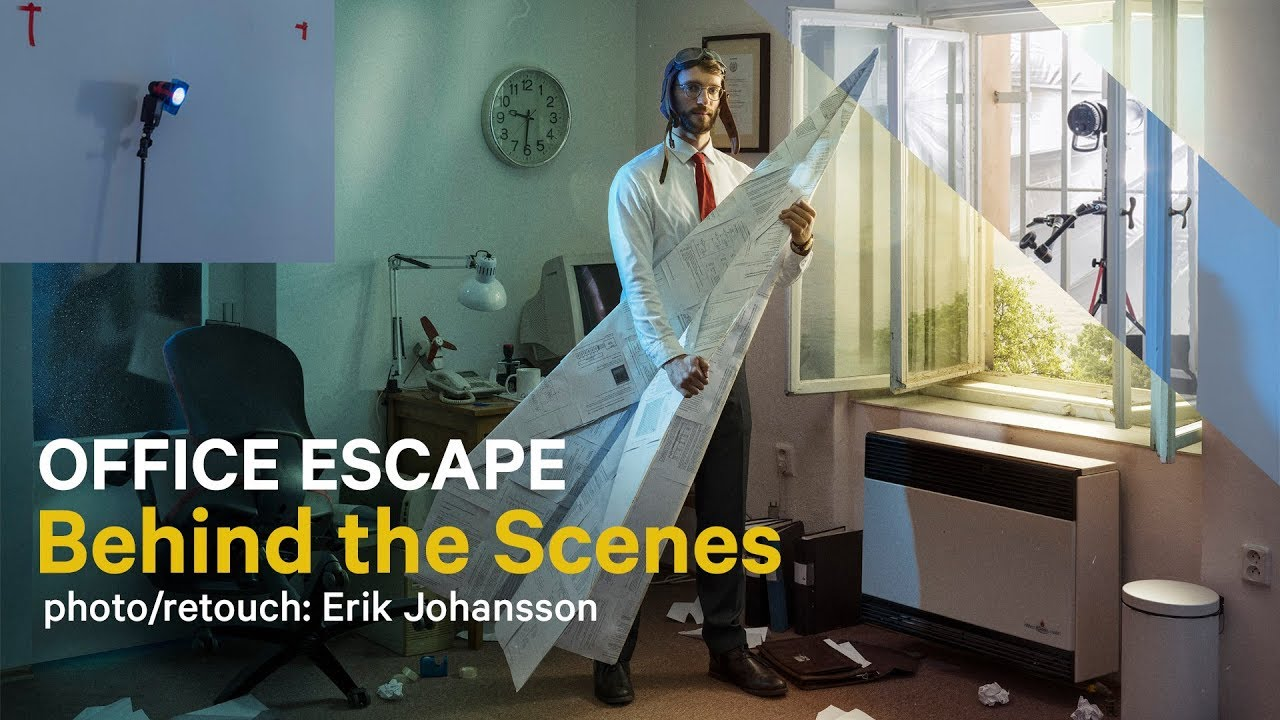 Behind the scenes video of Office Escape Project