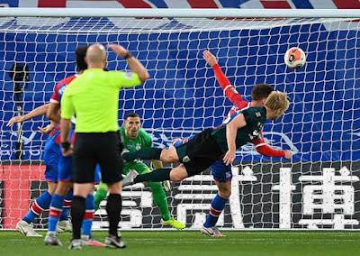 Video Crystal Palace 0-1 Burnley: Định đoạt cú đổ người đánh đầu