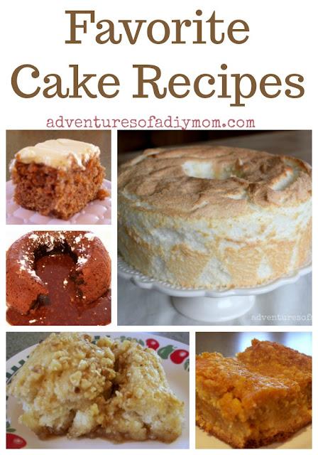 Favorite Cake Recipes