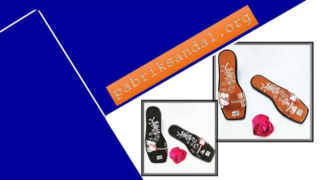 Produksi Sandal Mika Terbaru - Sandal Slop Mika Permata Wanita