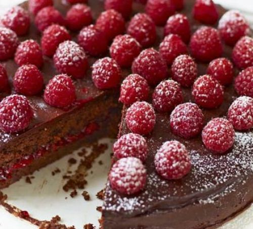 How to Make Chocolate Raspberry Torte