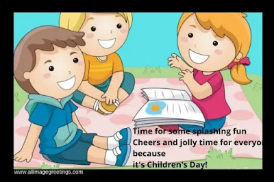 children's day drawing images