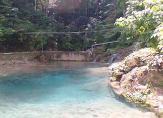 Manigom Nauli Wisata Kolam Renang Mata Air di Dolok Tomuan
