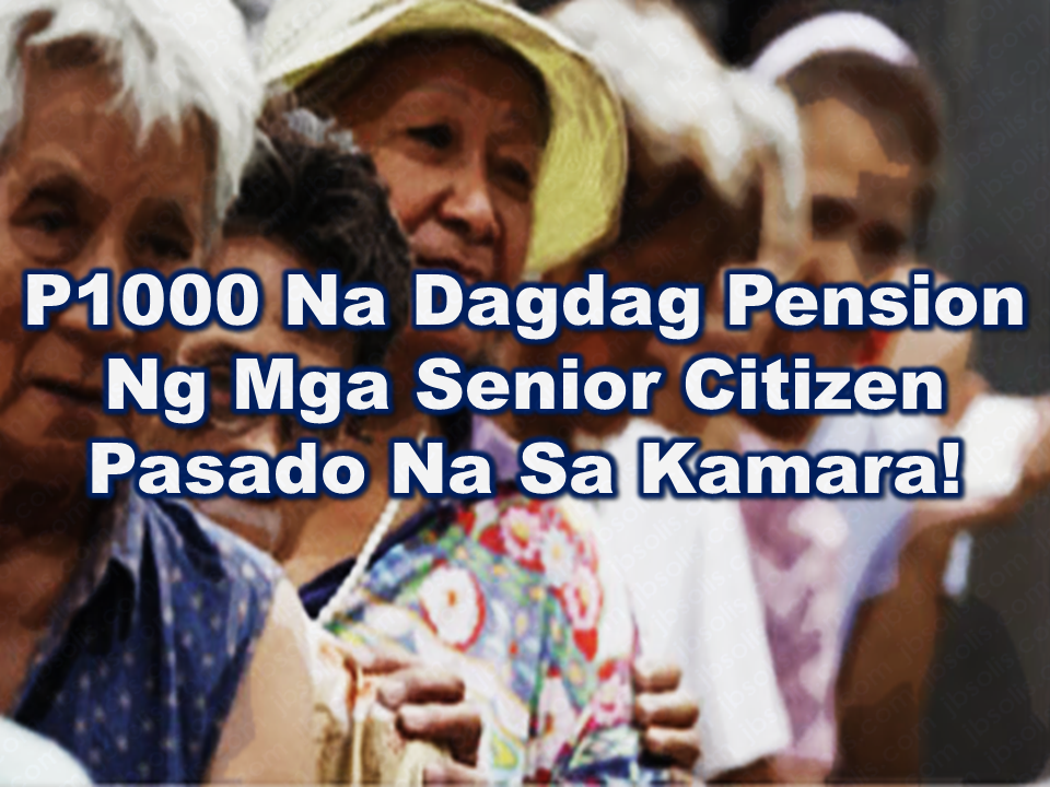 The social pension for the senior citizen in the Philippines even though a not so big amount could mean a lot for it recipients. Currently, the government is giving P500 every month for qualified senior citizen. The Congress approved the proposal to increase it to P1,000.00 and needed to get the approval of the plenary to be fully enacted as a law.  Advertisement     Sponsored Links   {EMBED VIDEO 1 HERE NOW!}  Pursuant to the eligibility criteria as may be determined by the DSWD, indigent senior citizens are entitled to a monthly pension amounting to Php 500.00 to augment the daily subsistence and other medical needs of senior citizens.  The grant of social pension is subjected to a review every two (2) years by Congress, in consultation with the DSWD within three months after convening the Congress.  A new proposed bill was already approved in the lower house and must have to be approved by the plenary to be enacted as law. Under the proposed bill, the existing  P500.00 will be increased to P1,000.00 to further serve the qualified indigent senior citizens.   House Bill 7227 seeks to increase  the monthly stipend for indigent senior citizen double the existing amount proposed by Representative Emi Calixto-Rubiano was already approved by the House of Representatives. Rubiano said that the P500 social pension is not even enough to cover their medical expenses, as quoted in the proposed bill.          Read More:    Is It True, Duterte Might Expand Overseas Workers Deployment Ban To Countries With Many Cases of Abuse?  Do You Agree With The Proposed Filipino Deployment Ban To Abusive Host Countries?