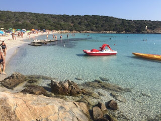 Relitto beach in Sardinia