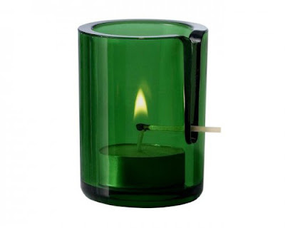 Diseño de porta velas muy ingenioso