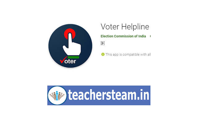 Download Voter Helpline Mobile App from Election Commission of India