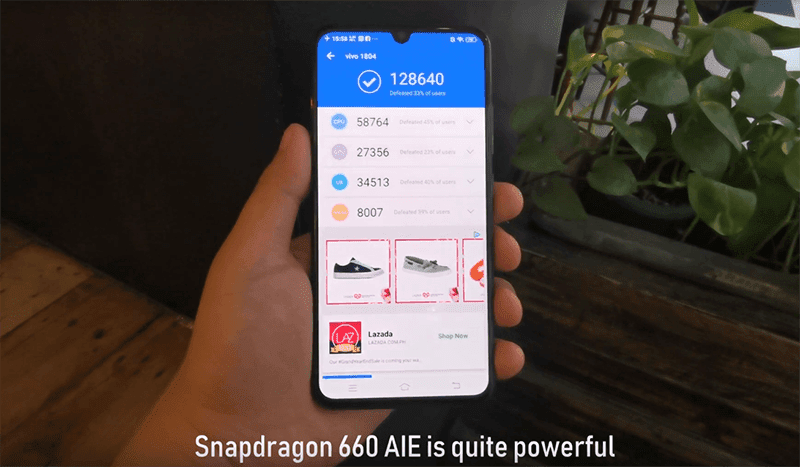 The Snapdragon 660 AIE is quite powerful