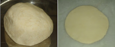 rolled bhature