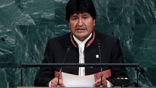 Bolivia condena el terrorismo y el capitalismo mundial ante ONU