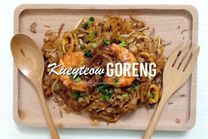 Resepi Kuey Teow Goreng Seafood