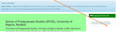 unn pg students portal