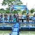 KASAL Panen 4000 Ekor Ikan Nila Kolam Ketahanan Pangan Lantamal I