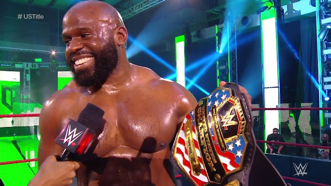 Apollo Crews Becomes the First Nigerian Wrestler to Win the WWE United States Championship