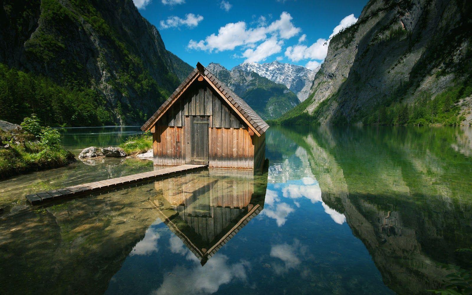 mountain lake hd wallpapers