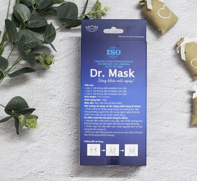 KHẨU TRANG Y TẾ (3 LỚP, HỘP 30 CÁI) - DR.MASK