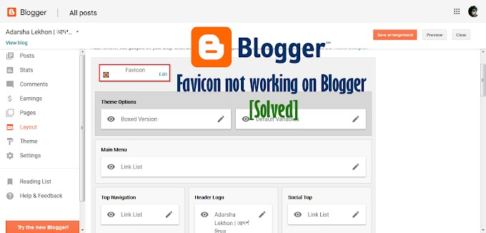 Favicon not working on Blogger  [Solved]
