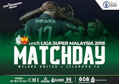Melaka vs Selangor 21.7.2018