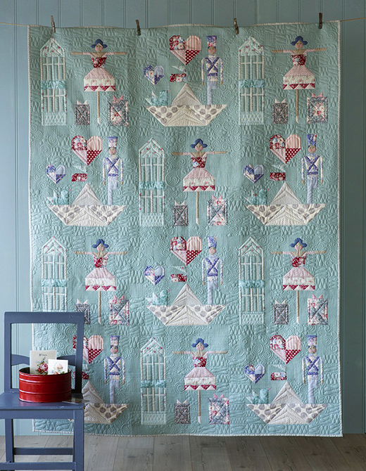 Brave Tin Soldier Quilt Free Pattern Designed By Tildas World