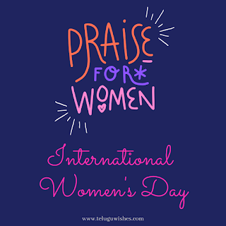 Praise for women international Women's Day Instagram Posts