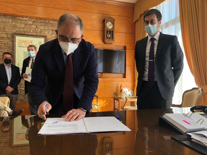 Municipio suscribió acuerdo con empresa sanitaria para beneficiar a familias Osorninas