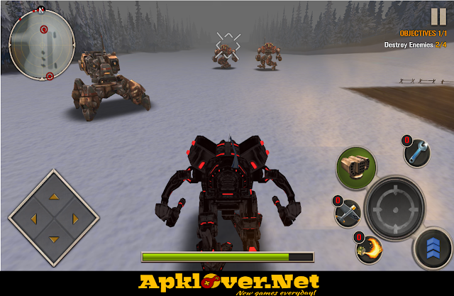 Mech Legion: Age of Robots MOD APK unlimited money