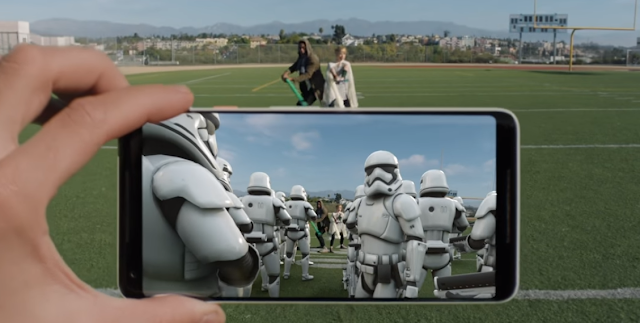 Get Star Wars AR Stickers on any Android Smartphone!!!