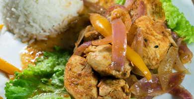 receta ceviche pollo peruano