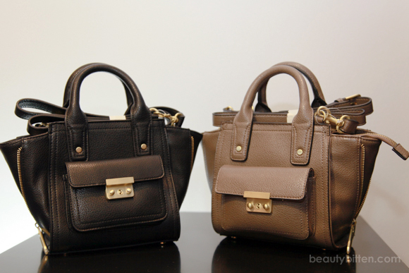 3 1 Phillip Lim For Target Mini Satchel With Gusset In Taupe And Black Review Beautybitten A Personal Style Beauty Blog