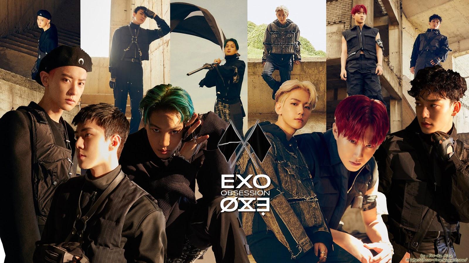 K Pop Lover Exo Obsession Wallpaper