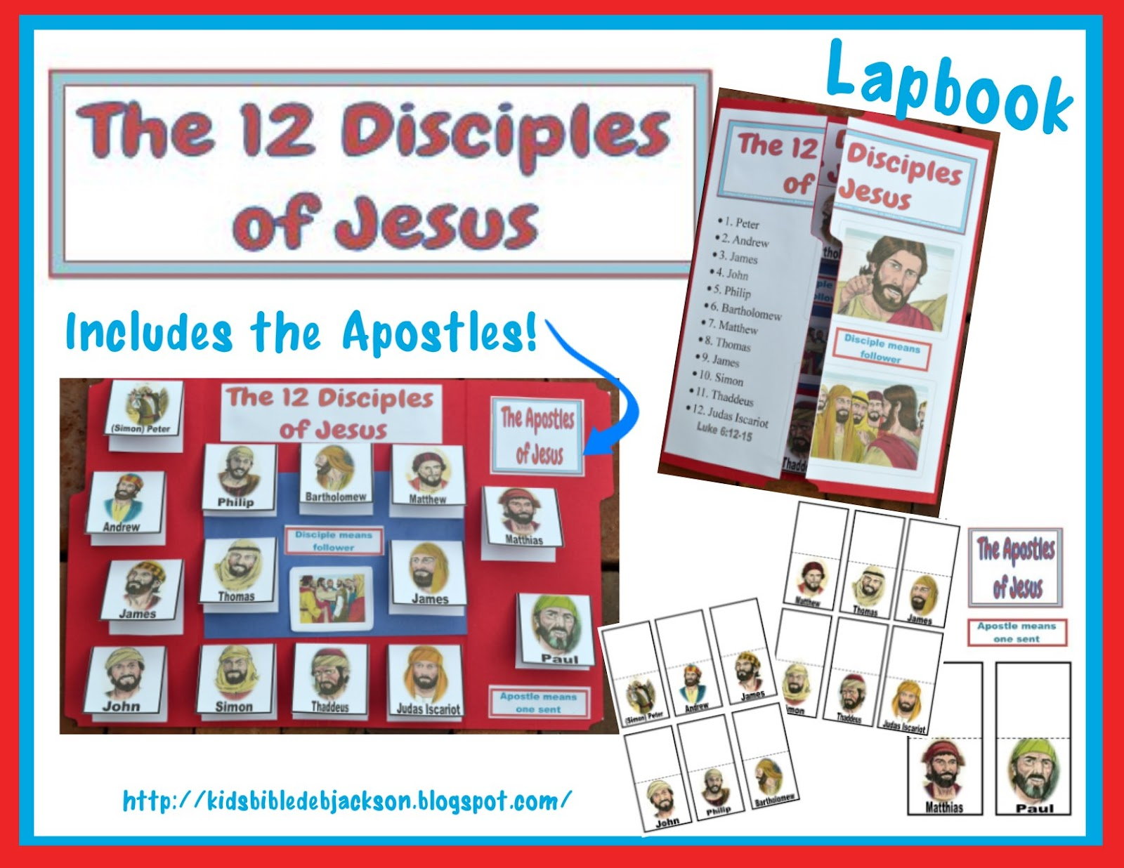 Bible Fun For Kids Jesus Picks His Disciples
