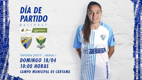 Málaga Femenino - Femarguín, alineaciones oficiales
