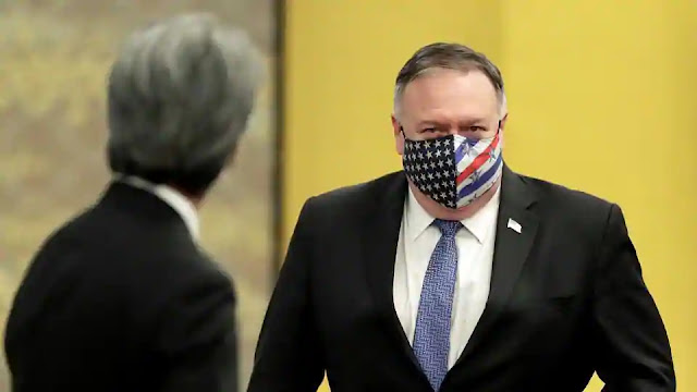 mike pompeo in quad meeting tokyo