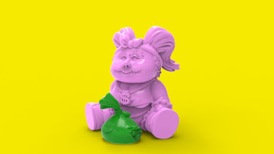 Money Bags Petunia Rotten GPK Resin Figure by Renone Lab