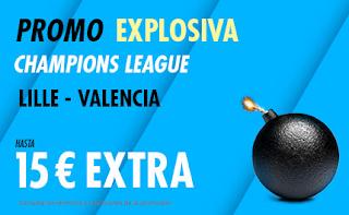 suertia promo champions Lille vs Valencia 23-10-2019
