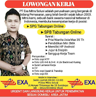 Walk In Interview Surabaya di PT. Exa Mitra Solusi Januari 2021