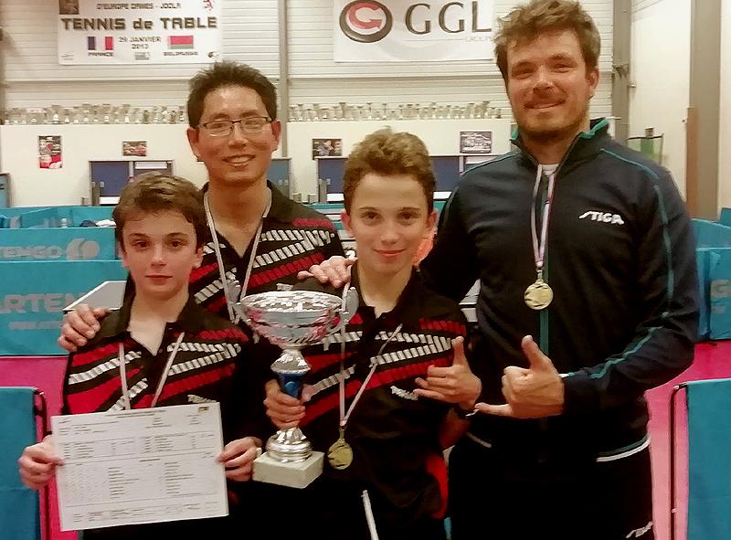 Coupe Gérard Fabre ping-pong