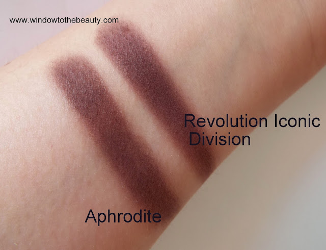 Makeup Geek Aphrodite cheap dupes swatches