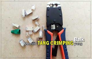 Membeli Tang Crimping (crimping tools) Yang Bagus
