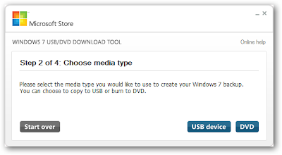 Microsoft Windows 7 USB/DVD Download Tool 6