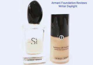 Armani Foundation Reviews
