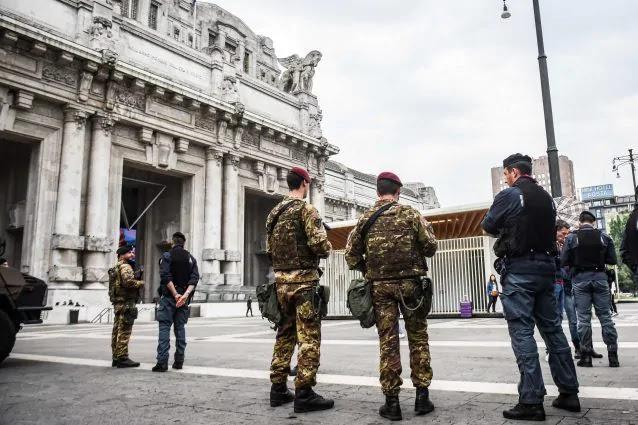 militare ferito stazione centrale milano