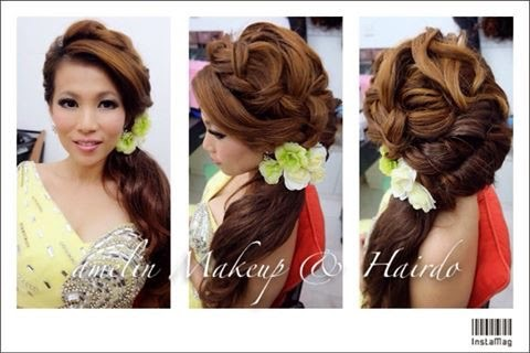 Fotopages wedding hairstyles