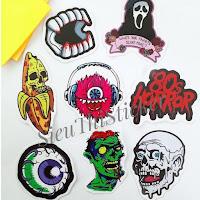 Sticker haloween kinh dị