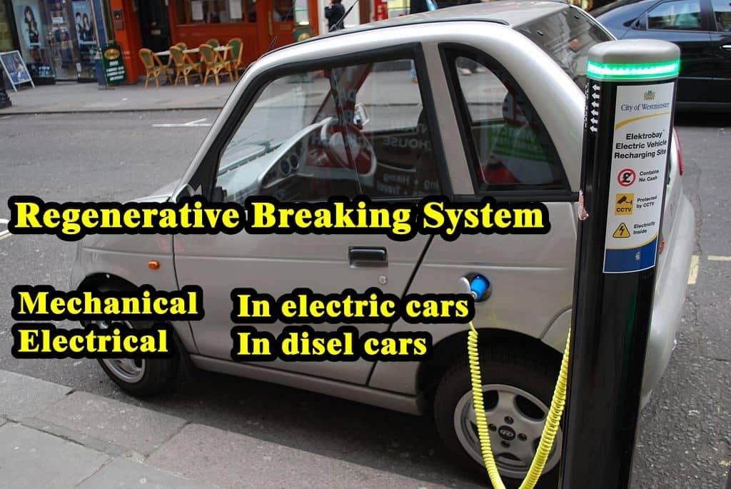 Electric Brake System In Car