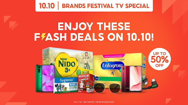 Shopee 10.10 Brands Festival TV Special on GMA