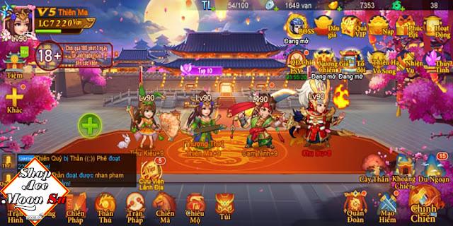 [DT0011] Danh Tướng 3Q - Team Ngô Chu Du S608 - Lực Chiến 7220 Vạn
