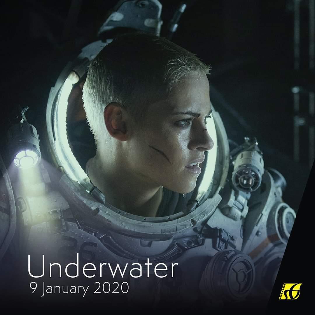 Sinopsis filem movie Underwater (2020) lakonan Kristen Stewart