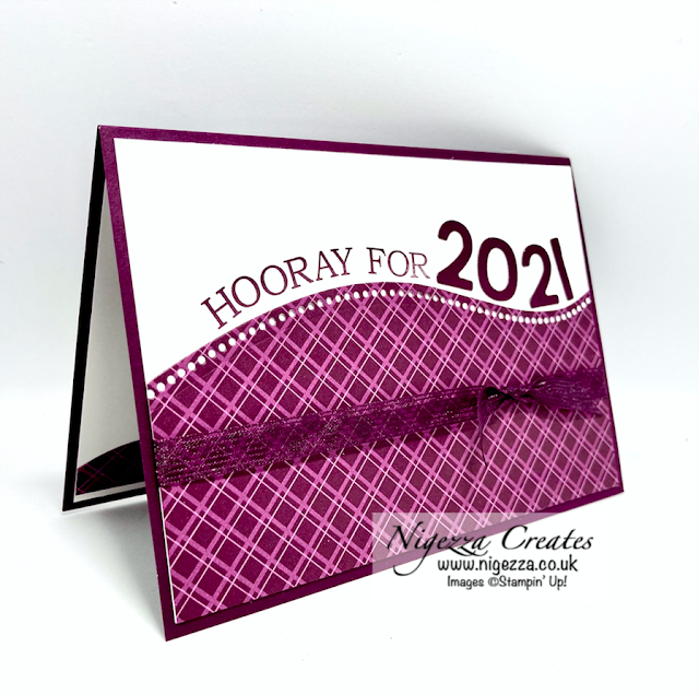 3D Paper Trimmer Blog Hop December 2020 Topic: Welcome 2021