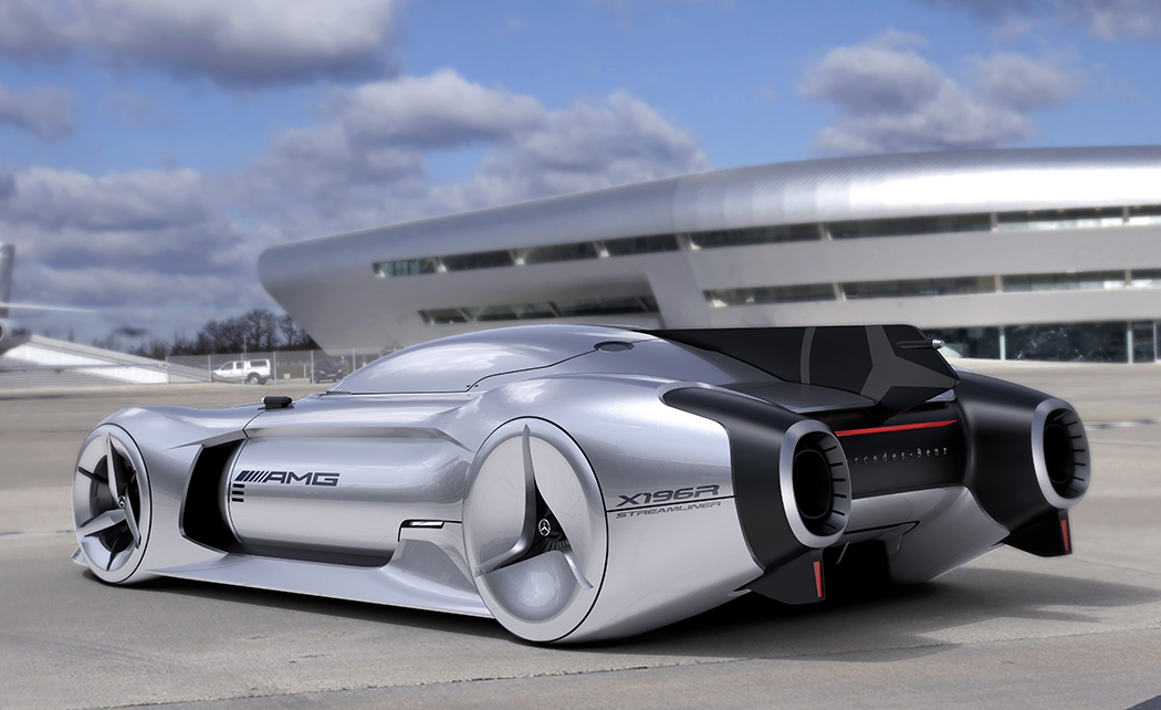 مرسيدس-بنز المستقبل W196R Streamliner 2040 Concept